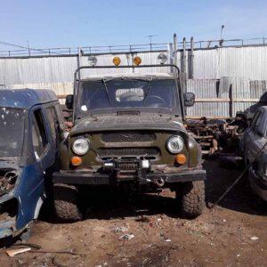 Разборка УАЗ 469 (УМЗ-417 карбюратор) на запчасти