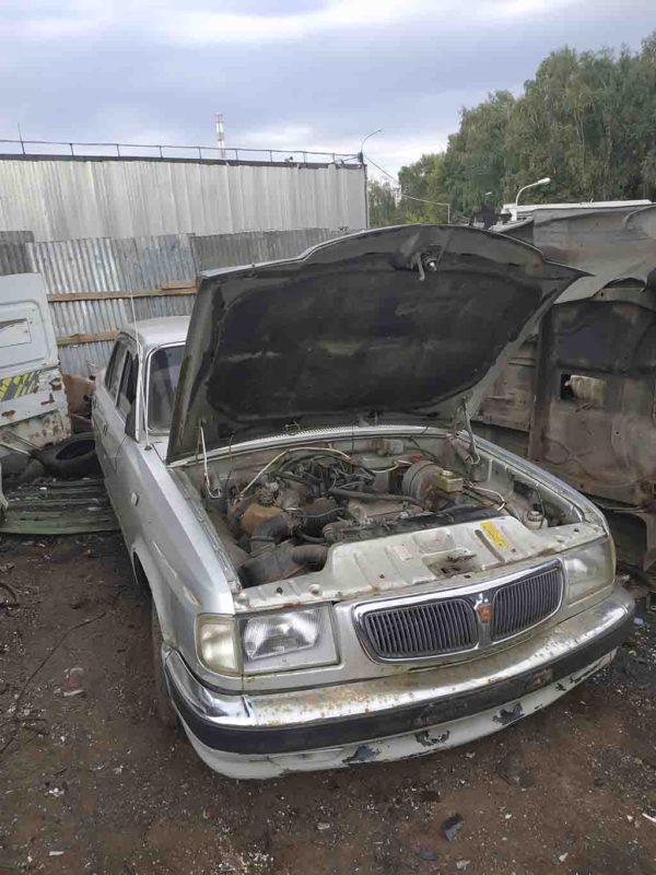Разбор ГАЗ Волга 3110 (ЗМЗ-406) на запчасти